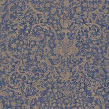 Casadeco Signature 81976118 ORSAY klasszikus damaszt texturált sötétkék arany tapéta