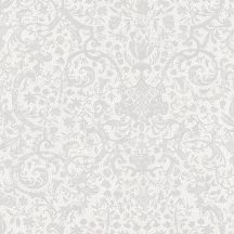 Casadeco Signature 81979114 ORSAY klasszikus damaszt texturált törtfehér szürke tapéta