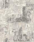 Rasch Kids & Teens III, 821208  Gyerekszobai Ipari design nagyvárosi megjelenítés meszelt fehér és szürke árnyalatok tapéta