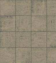 Casadeco Natsu 82169702 OSAKA geometrikus négyzetek arany fekete tapéta
