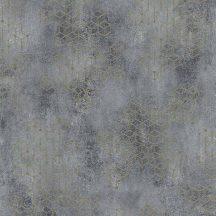 Novamur Hailey 82240 (6797-10) Natur Geometrikus Beton háttéren hatszögek kockák 3D szürke kékesszürke bézs antracit arany tapéta