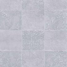 Novamur Hailey 82253 (6799-20) Natur Etno díszes csempeminta szürke árnyalatok ezüst tapéta