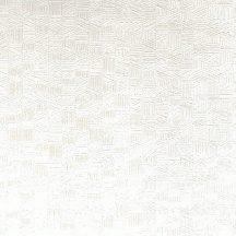 Casadeco Encyclopedia 82540117 LIGNUM BLANC geometrikus texturált faragott fa hatás fehér tapéta