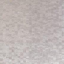 Casadeco Encyclopedia 82541311 LIGNUM TAUPE 1 geometrikus texturált faragott fa hatás halvány szürkésbézs tapéta