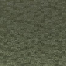 Casadeco Encyclopedia 82547322  LIGNUM VERT geometrikus texturált faragott fa hatás sötétzöld tapéta