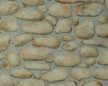 As-Creation Dekora Natur 6, 8345-15  kőmintás bézs barna szürke tapéta