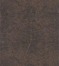 Casadeco Natura 83769414  WINTER Natur fatest évgyűrűi repedései sötétbarna/antracit rézszín fémes mintarajzolat tapéta
