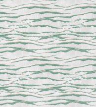 Casadeco Idylle 83837505  EMMA VERT Natur az óceán hullámai festői megjelenítés szürkésfehér zöld arany csillogó részletekkel tapéta