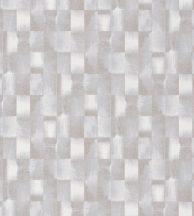 Casadeco Idylle 83841208 OPALE BEIGE Natur ipari festett fémlemezek minta fehér bézs szürke tapéta