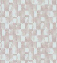 Casadeco Idylle 83844134 OPALE ROSE NUDE Natur ipari festett fémlemezek minta fehér rózsaszín tapéta