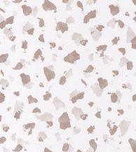 Casadeco Idylle 83864109 ONYX ROSE NUDE Natur művészi ábrázolású kőfal fehér bézs fémes rózsaszín tapéta