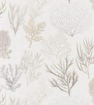 Casadeco Rivage 83971120 CORAIL Natur Különböző korallfajták megjelenítése krémfehér bézs szürke barna tapéta