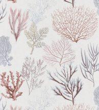 Casadeco Rivage 83978121 CORAIL Natur Különböző korallfajták megjelenítése krémfehér vörös kék pink aranysárga tapéta
