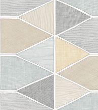 Casadeco Nova 84156116 STELLA COLOR Geometrikus pasztell rózsaszín bézs kék fekete fehér tapéta