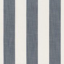 Casadeco Rivage 84216310 TISSU ALIZE Csíkos Klasszikus elegáns blokkcsíkos törtfehér kék/szürkéskék dekoranyag
