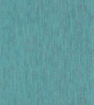 Casadeco Cuba 84366316 MADEIRA TURQUOISE 1 Natur egyszínű texturált kéreghatás türkiz csillogó fémes fény tapéta