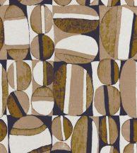 Casadeco Nangara NANG84386410 ANANGU CAMEL et BLUE Etno Natur festett sziklák teveszőr barna sötétkék fehér tapéta