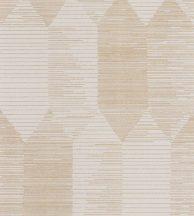 Casadeco Nangara NANG84401230  KIPARA BEIGE Geometrikus textúrázott vonalakkal kialakított hatszög mozaik krém bézs barna tónusok tapéta