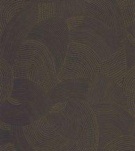 Casadeco Nangara NANG84416429 TJALA BLEU et CAMEL Grafikus ősi kavargó etno minta sötétkék teveszőrbarna tapéta