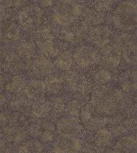 FOSSILIUM AUBERGINE Natur őskori növényi kövület telt padlizsánlila fémes arany tapéta