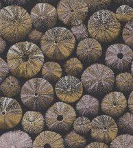 ACHINOS JAUNE Natur mélytengeri világ tengeri sünök barna fémes rózsaszín és arany tapéta