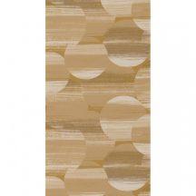 Casadeco Utopia 85122369 MIRAGE JAUNE Geometrikus színátmenetes körök sárga szürkésbarna fehér tapéta