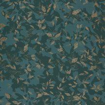 Casadeco Jardins Suspendus 85207202 GADAGNE Natur Reneszánsz kert zöld sötétzöld arany fénylő mintarészletek tapéta