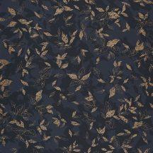 Casadeco Jardins Suspendus 85209303 GADAGNE Natur Reneszánsz kert antracit fekete arany fénylő mintarészletek tapéta
