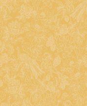 Casadeco Delicacy 85362264 FEATHER Organikus mozgalmas életkép/csendélet sárga bézsarany irizáló mintafestés tapéta