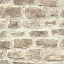 Rasch b.b home passion 860610  téglaminta fehér bézs barna szürke tapéta