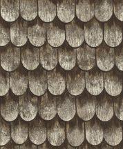 Rasch b.b home passion 860702 régi paliszád kerítés barna szürke törtfehér bézs tapéta