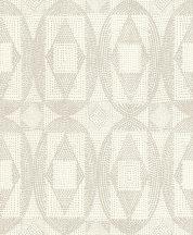 Rasch b.b home passion 861815 pontokkal rajzolt grafikus díszítőminta krémfehér szürkésbézs tapéta