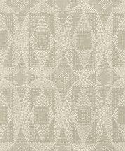 Rasch b.b home passion 861822  pontokkal rajzolt grafikus díszítőminta krémfehér homokszín szürkésbarna tapéta