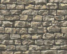 As-Creation Wood'n Stone 9079-12 kőmintás barna fekete tapéta