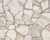 As-Creation Wood'n Stone 9273-23  kőmintás bézs barna szürke tapéta