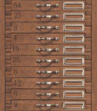 Rasch Factory III, 938111  fotorealisztikus fa fiókok barna fekete  tapéta
