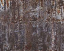 Rasch Factory IV 940916 Natur/Ipari design fémes betonlapok erős használati nyomokkal barna szürke rézszín ezüst falpanel