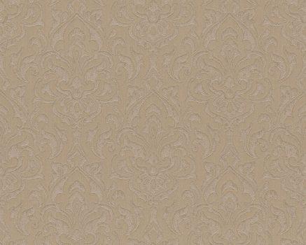As-Creation Bohemian 9471-23 Klasszkius barokk díszítőminta aranybarna árnyalatok fémes hatás tapéta