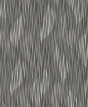Grandeco Fusion A23603  hullámminta csíkos hatású szürke ezüst antracit  tapéta