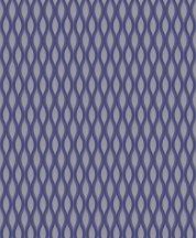 Grandeco Fusion A25005  grafikus kék szürkéskék tapéta