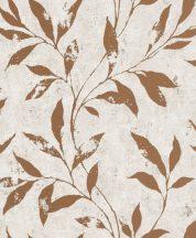 Grandeco Phoenix A48303 Natur Levélágak krém/bézs fényes bronz mintarajzolat tapéta