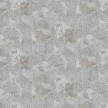 Grandeco Phoenix A48502 Geometrikus grafikus akvarell megjelenítés szürke árnyalatok barna tapéta