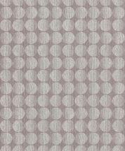 Grandeco Phoenix A53202 Geometrikus Retro körök sorba oszlopba rendezve szürke szürkésbézs szürkésbarna tapéta