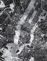 As-Creation Metropolitan Stories II, DD118828 Etno New York várostérkép madártávlatból szürke fekete fehér falpanel
