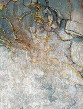 As-Creation Metropolitan Stories II, DD118829 Natur márványozott élethű kőmintázat szürke arany kék falpanel