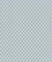 Grandeco Elune EN3103  Grafikus geometrikus 3D kis háromszögek türkiz szürke ezüst tapéta