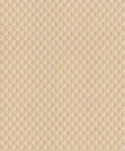 Grandeco Elune EN3104  Grafikus geometrikus 3D kis háromszögek bézs krém sáega vaníliasárga tapéta