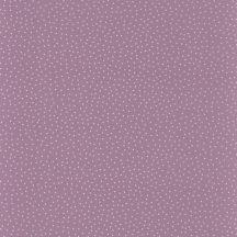 Caselio Girl Power 100935515  Gyerekszobai pontok lila krémfehér dekoranyag