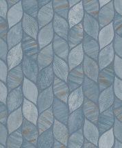 Grandeco Gravity GT3204 Organikus design stilizált váltakozó strukturák szürke kék árnyalatok bronz tapéta