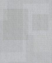 Grandeco Gravity GT3401 Geometrikus grafikus négyszögek durva szövetstrukturán szürke árnyalatok fehér csillogó mintafelület